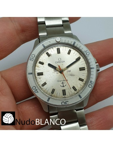 OMEGA ADMIRALITY WATERPROOF WATCH MANUAL WIND GENUENE DIAL WORKING