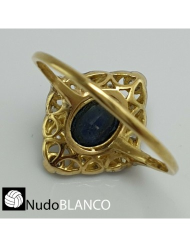 ART DECO RING BACK