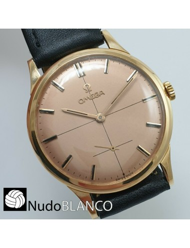OMEGA WRIST WATCH SOLID 18K ROSE GOLD MANUAL WIND LUXSURY